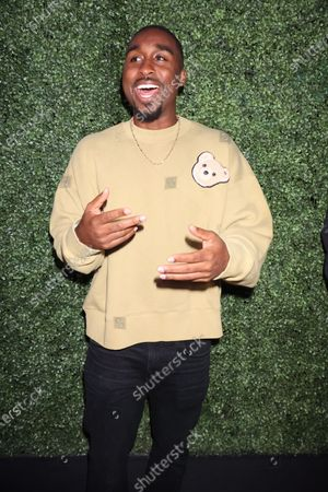 Demetrius Shipp Jr.. at Monaco, With God's Help Spring/Summer 2022 Paris Fashion Week event hosted by Rhude