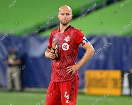 Toronto midfielder, Michael Bradley (4), during the MLS match between Toronto FC and Nashville SC at Nissan Stadium in Nashville, TN
