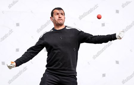 """Pictured is Former Donegal All-Star Frank McGlynn as GAA Handball officially launched their """"Summer Series 2021"""" Initiative at the outdoor Ballyshannon Handball Alley. The initiative aims to increase the visibility of Handball in Ireland again through outdoor play. Special guests included former Donegal All-Ireland winning All-Star Frank McGlynn, and current Donegal Senior star Paul Brennan."""