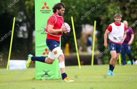 Editorial image of England Training,  Rugby Union, The Lensbury, London, UK - 24 Jun 2021