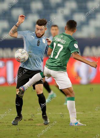 Editorial photo of Bolivia Uruguay Copa America Soccer, Cuiaba, Brazil - 24 Jun 2021