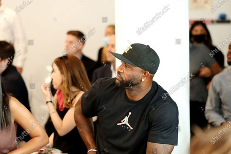 Editorial picture of Sneak peak of Russell Wilson's 3 Brand Clothing line at opening of rookie USA flagship store in Union Square, NYC,Rookie USA Flagship store in Union Sq.,New York, - 24 Jun 2021