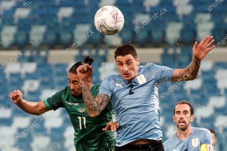 Editorial photo of Bolivia vs Uruguay, Cuiaba, Brazil - 24 Jun 2021