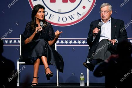 Editorial image of Republicans Iowa Haley, West Des Moines, United States - 24 Jun 2021