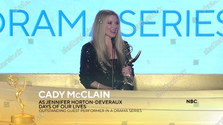 Cady McClain - Outstanding Guest Performance in a Drama Series - 'Days of Our Lives'