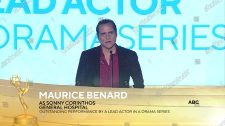 Stock Image of Maurice Benard - Outstanding Lead Actor in a Drama Series - 'General Hospital'