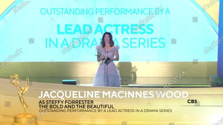 Jacqueline MacInnes Wood - Outstanding Performance by a Lead Actress in a Drama Series - 'The Bold and the Beautiful'