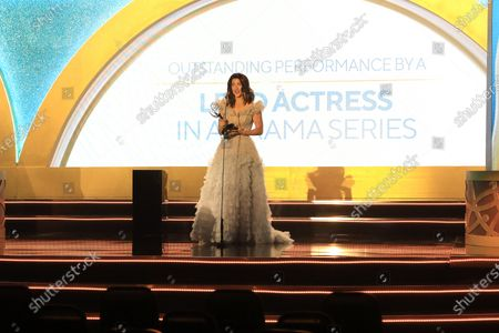 Stock Photo of Jacqueline MacInnes Wood - Outstanding Performance by a Lead Actress in a Drama Series - 'The Bold and the Beautiful'