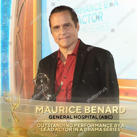 Maurice Benard - Outstanding Lead Actor in a Drama Series - 'General Hospital'