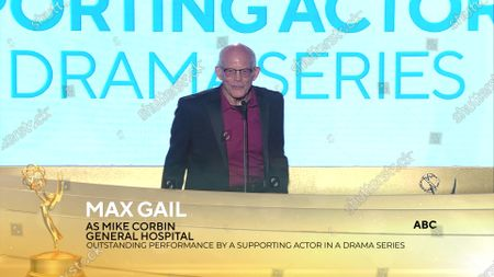 Stock Picture of Max Gail - Outstanding Performance by a Supporting Actor in a Drama Series - 'General Hospital'