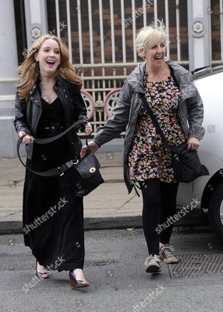 Editorial image of Rachel Leskovac leaving party, The Ox Pub. Manchester. - 13 Aug 2010