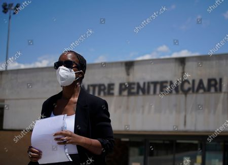 """Stock Photo of John McAfee's wife Janice leaves the Brians 2 penitentiary center in Sant Esteve Sesrovires, near Barcelona, northeast Spain, . A judge in northeastern Spain has ordered an autopsy for John McAfee, creator of the McAfee antivirus software, a gun-loving antivirus pioneer, cryptocurrency promoter and occasional politician who died in a cell pending extradition to the United States for allegedly evading millions in unpaid taxes. McAfee's Spanish lawyer, Javier Villalba, said the entrepreneur's death had come as a surprise to his wife and other relatives, since McAfee """"had not said goodbye"""