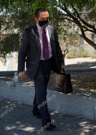 """Stock Image of Lawyer Javier Villalba leaves the Brians 2 penitentiary center in Sant Esteve Sesrovires, near Barcelona, northeast Spain, . A judge in northeastern Spain has ordered an autopsy for John McAfee, creator of the McAfee antivirus software, a gun-loving antivirus pioneer, cryptocurrency promoter and occasional politician who died in a cell pending extradition to the United States for allegedly evading millions in unpaid taxes. McAfee's Spanish lawyer, Javier Villalba, said the entrepreneur's death had come as a surprise to his wife and other relatives, since McAfee """"had not said goodbye"""