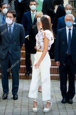 Editorial image of Queen Letizia attends Meeting of the Board of Trustees of the Residencia de Estudiantes, Madrid, Spain - 25 Jun 2021