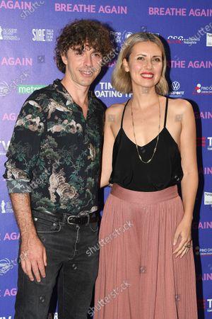 Stock Picture of Michele Riondino and Eva Nestori