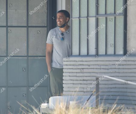 Editorial photo of Exclusive - Michael Ealy gets a parking ticket, Los Angeles, USA - 24 Jun 2021