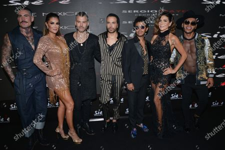 Editorial picture of Siete Musical Red Carpet Premiere, Pepsi Center, Mexico City, Mexico - 24 Jun 2021