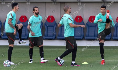 Editorial picture of UEFA Euro 2020 Portugal training, Budapest, Hungary - 25 Jun 2021