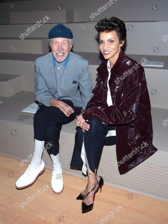 Editorial photo of Dior Homme show, Front Row, Spring Summer 2022, Paris Fashion Week Men's, France - 25 Jun 2021