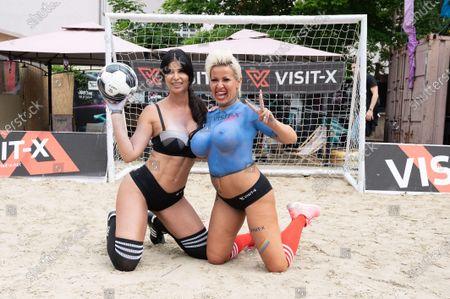 Micaela Schaefer and Ginger Costello - Wollersheim
