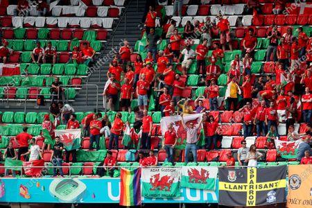 Editorial image of Wales v Denmark, UEFA European Championship 2020, Round of 16, International Football, Johan Cruijff Arena, Amsterdam, Netherlands - 26 June 2021