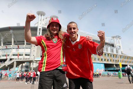 Editorial picture of Wales v Denmark, UEFA European Championship 2020, Round of 16, International Football, Johan Cruijff Arena, Amsterdam, Netherlands - 26 June 2021