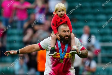 Editorial picture of Exeter Chiefs v Harlequins, Gallagher Premiership, Final, Rugby Union, Twickenham Stadium, London, UK - 26 June 2021