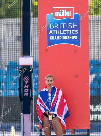 Jodie Williams 400m winner;