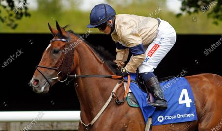 OUTBOX (Hollie Doyle) winner of The Close Brothers Fred Archer Stakes Newmarket