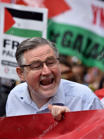 Barry Gardiner. People's Assembly, National Demonstration through central London.