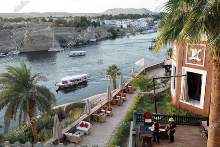 A view of the Old Cataract Hotel in Aswan, southern Egypt, 25 June 2021 (issued 26 June 2021).The Old Cataract was built in 1899 by Thomas Cook to house European travelers. Its guests included famous people as Winston Churchill, Howard Carter, Margaret Thatcher, Jimmy Carter, and Princess Diana.