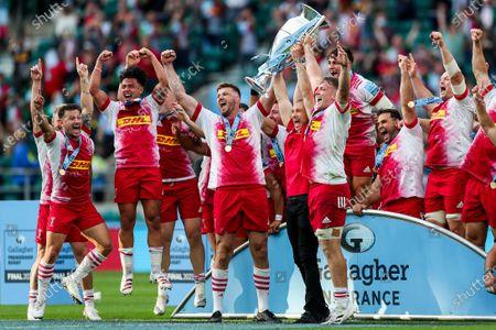 Editorial picture of Exeter Chiefs v Harlequins Prem Final, UK - 26 Jun 2021
