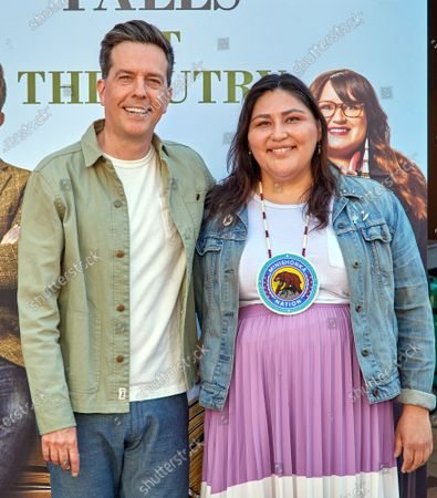 Editorial image of Rutherford Falls and The Autry Museum of the West, Photocall, Los Angeles, USA - 26 Jun 2021