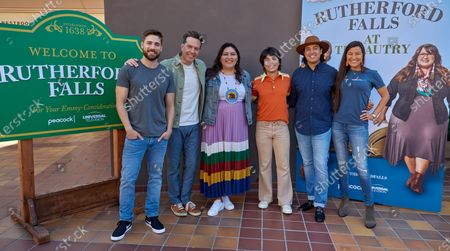 Dustin Milligan, Ed Helms, Sierra Teller, Jesse Leigh, Tai Leclaire and Kimberly Guerrero