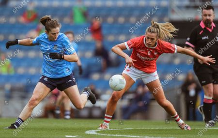 Editorial photo of LIDL Ladies National Football League Division 1 Final, Croke Park, Dublin - 26 Jun 2021