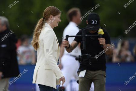 Stock Image of Jennifer Gates, Longines Global Champions Tour, Grand Prix of Paris Prize