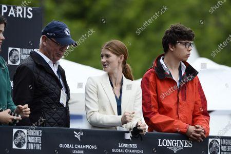 Stock Photo of Jennifer Gates, Longines Global Champions Tour, Grand Prix of Paris Prize