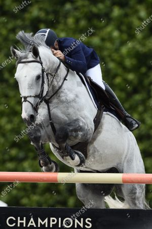 Roger Yves BOST (FRA) riding Muhammad Ali VDV Z, Global Champions League, second competition presented by Metrobus Prize