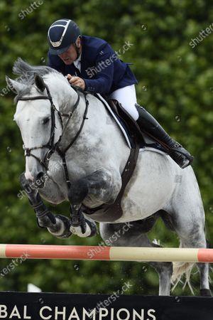 Editorial picture of International Horse Riding Longines Paris Eiffel Jumping 2021, Longines Global Champions Tour Equestrian CSI 5, Paris, France - 26 Jun 2021