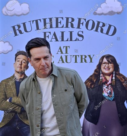 """Actor Ed Helms attends the Peacock Series """"Rutherford Falls"""" partnership with The Autry of the American West to celebrate Native American storytelling event at the Autry Museum of the American West in Los Angeles on Saturday, June 26, 2021."""
