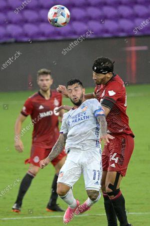 Editorial image of MLS FC Cincinnati Toronto FC Soccer, Orlando, United States - 26 Jun 2021