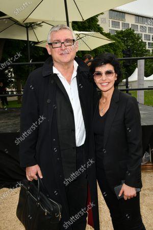 Michel Onfray and Rachida Dati