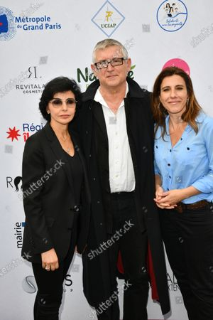 Rachida Dati and Michel Onfray and Nathalie Levy