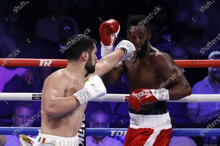 Editorial picture of Guido Vianello vs. Marlon Williams, Las Vegas, USA - 26 Jun 2021