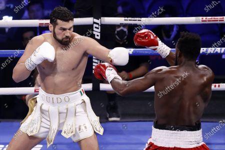 Editorial image of Guido Vianello vs. Marlon Williams, Las Vegas, USA - 26 Jun 2021