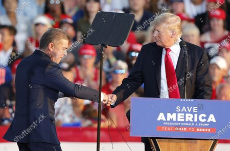 Editorial image of Trump's first post-presidential rally, Wellington, USA - 26 Jun 2021