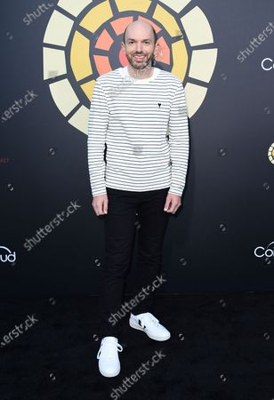 Paul Scheer arrives at CTAOP's Night Out 2021: Fast and Furious, at the Universal Studios Backlot in Los Angeles