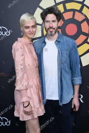 Stock Photo of Jason Reitman, right, arrives at CTAOP's Night Out 2021: Fast and Furious, at the Universal Studios Backlot in Los Angeles