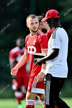 Editorial picture of Soccer Jpl Friendly Match Standard De Liege Vs Union Rochefortoise, Liege, Belgium - 26 Jun 2021