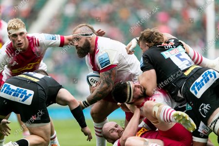 Editorial image of Exeter Chiefs v Harlequins - Gallagher Premiership Rugby Final, London, United Kingdom - 26 Jun 2021